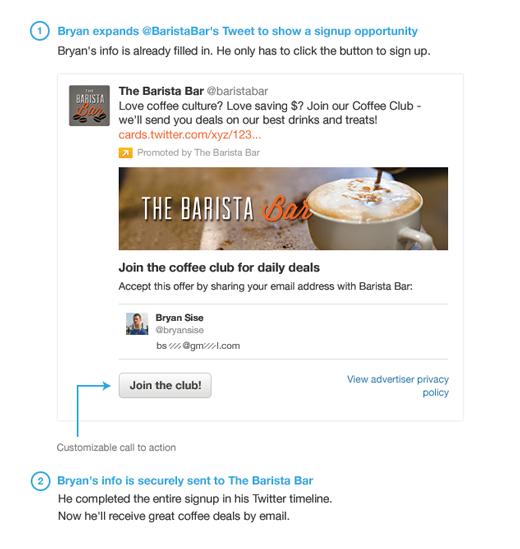 Twitter lead generation card 3